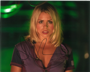 Billie Piper  - Rose Tyler,  DOCTOR WHO  Genuine Signed 10 x 8  - 10698